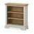 Normandy Grey Low Bookcase