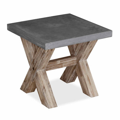 Rock Concrete Lamp Table by Roseland Furniture