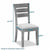 Dimensions - Rock Dining Chair