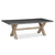 Rock Concrete 230cm Dining Table by Roseland Furniture