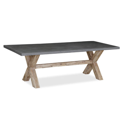 Rock Concrete 230cm Dining Table