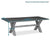 Dimensions - Rock Concrete 230cm Dining Table