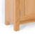 London Oak Mini Sideboard - Close up of base of Sideboard