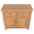 London Oak Mini Sideboard - Top view