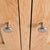 London Oak Mini Sideboard - Close up of cupboard door knobs