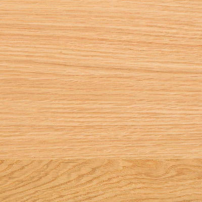 Example of the oak wood grain on the Farrow Grey Hallway Bench
