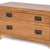 Surrey Oak 85cm TV Stand with Drawers - Close Up of Feet