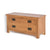 Surrey Oak 85cm TV Stand with Drawers - Side view