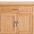 Abbey Light Oak Mini Sideboard - Close up of front of drawer and cupboard doors