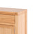 Abbey Light Oak Mini Sideboard - View of top and corner of sideboard