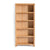 Abbey Light Oak Large Bookcase by Roseland Furniture