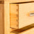 The Abbey Light Oak 4ft Bed Set - Chest of Drawers Dove Tail Joints