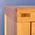 Abbey Light Oak Bedroom Set - Chest of Drawers Top Front Corner