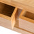 Hampshire Oak Coffee Table - Close up of drawers when open