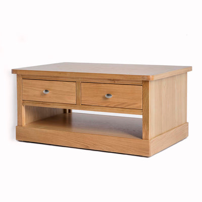 Hampshire Oak Coffee Table - Side view