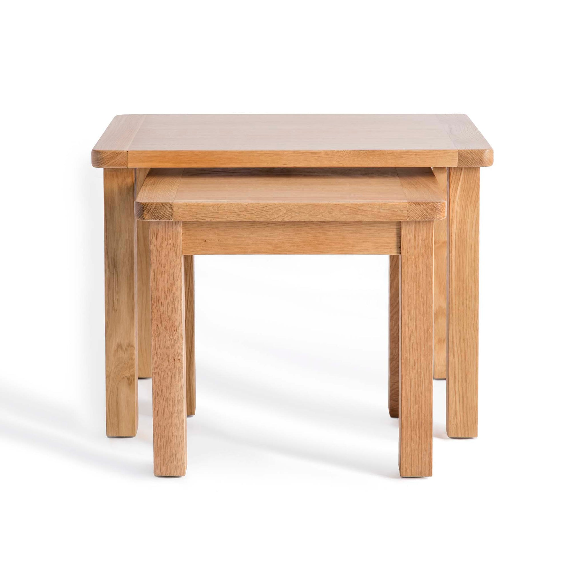 Hampshire Oak Nest of Tables by Roseland Furniture