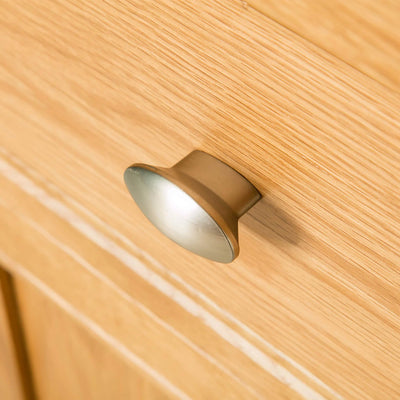 Hampshire Oak Telephone Table cupboard Unit drawer knob