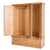 Hampshire Oak Triple Wardrobe inside drawer view