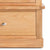 Hampshire Oak Triple Wardrobe door catch view