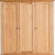 Hampshire Oak Triple Wardrobe drawer dovetail joint view