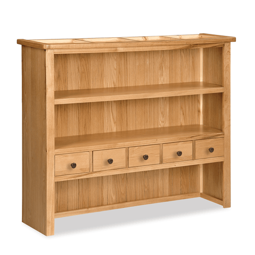 Sussex Oak Large Open Hutch