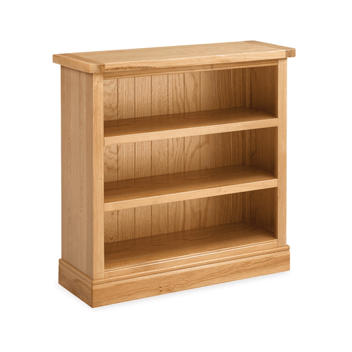 Sussex Oak Low Bookcase