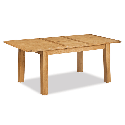 Sussex Oak 120-165cm Butterfly Extending Table
