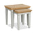 Normandy Painted Nest of Tables by Roseland Furniture