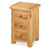 Sidmouth Oak 3 Drawer Bedside Table