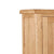 Sidmouth Oak Double Wardrobe With Drawer - Close Up of Oak Top