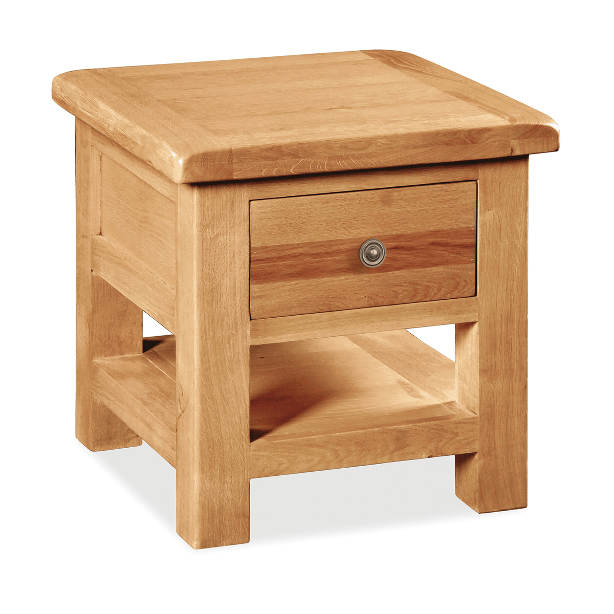 Sidmouth Lamp Table With Drawer by Roseland Furniture
