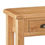 Sidmouth Oak Console Table - Close Up of Oak Top