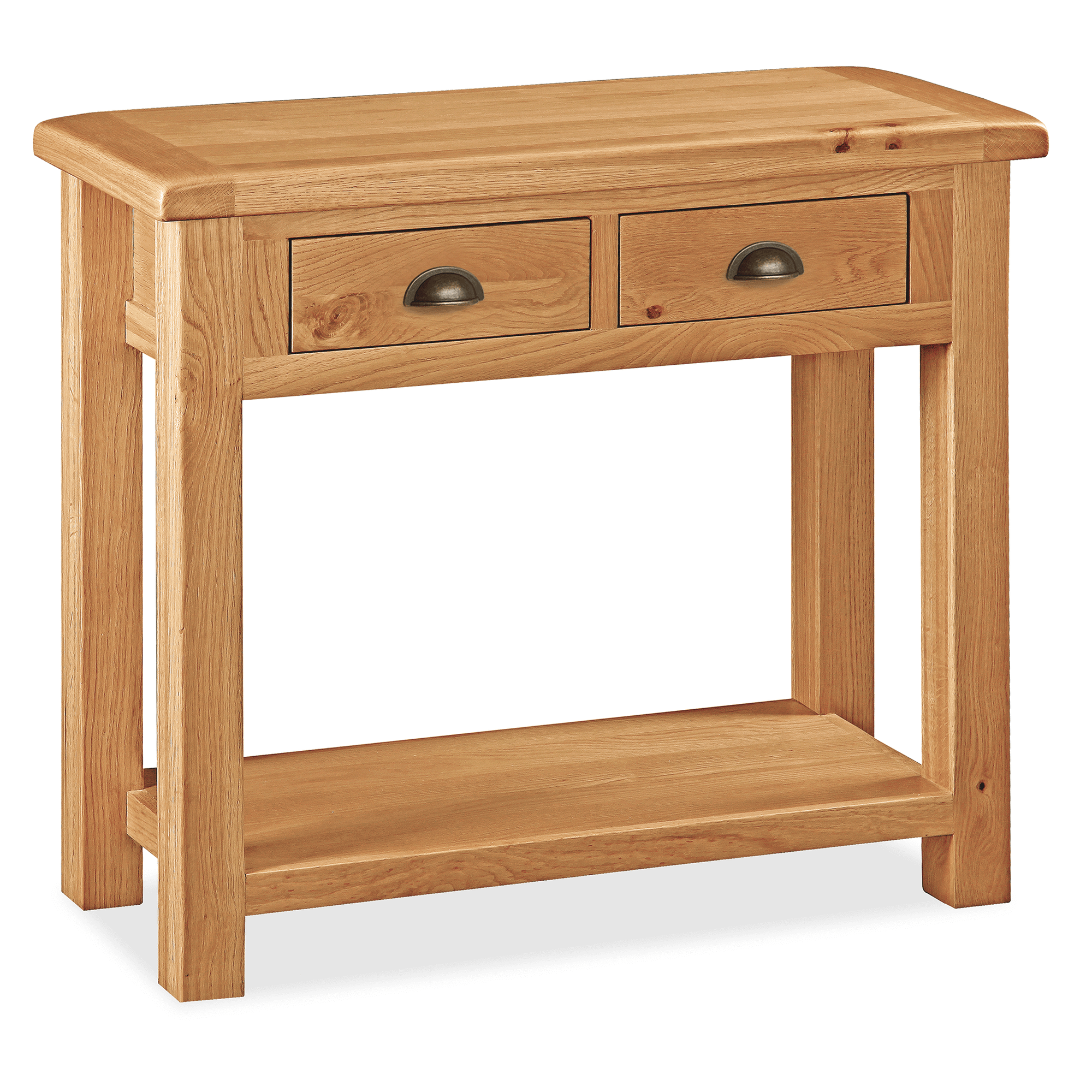Sidmouth Oak Console Table by Roseland Furniture