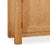 Sidmouth Oak Large Sideboard - Close Up of  Legs