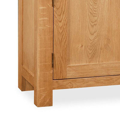 Sidmouth Oak Extra Large Sideboard - Close Up of Feet