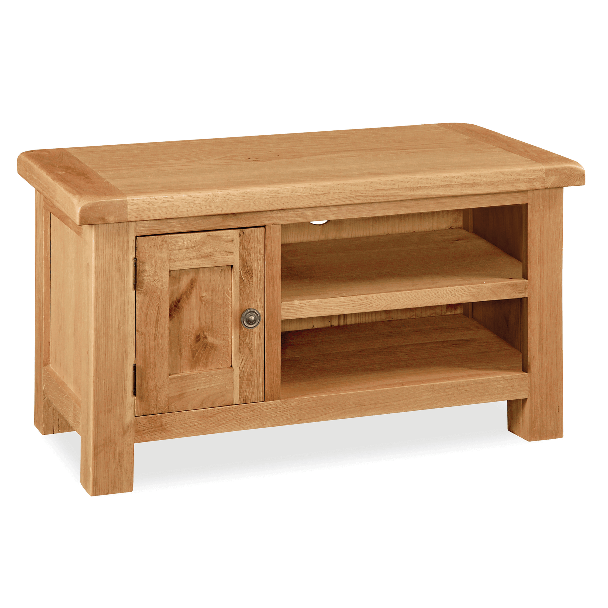 Sidmouth Oak 90cm TV Unit by Roseland Furniture