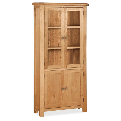 Sidmouth Oak Display Cabinet