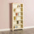 Farrow Cream Large Bookcase - Lifestyle side view