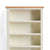 Farrow Cream Large Bookcase - Close up of top of bookcase