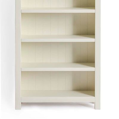 Farrow Cream Large Bookcase - Close up of base of bookcase