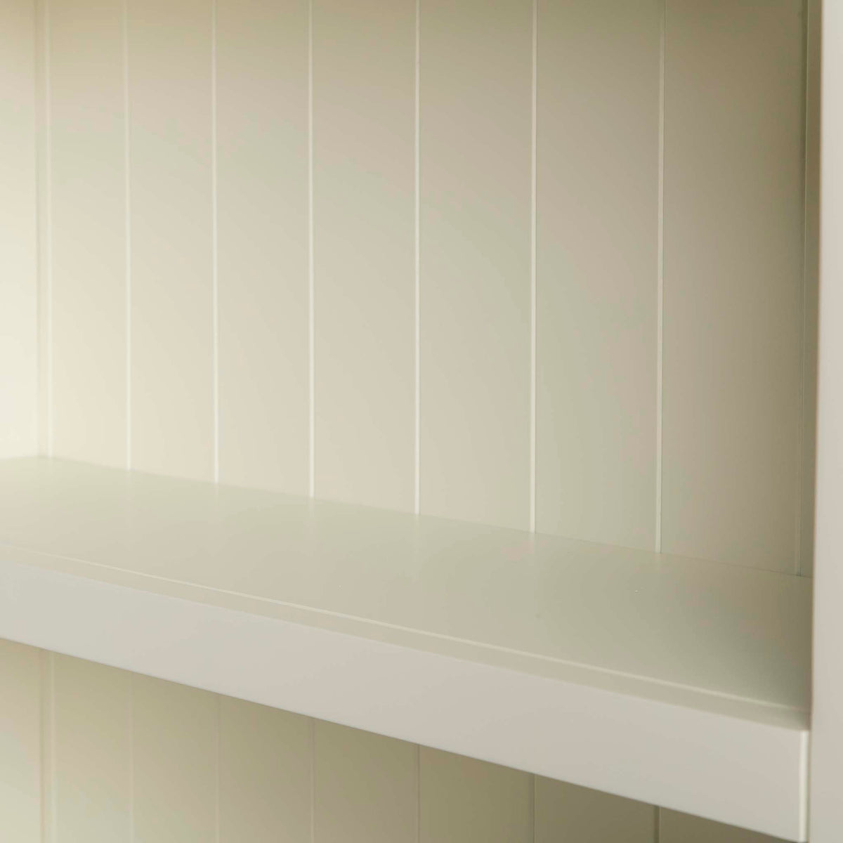Internal view - Farrow Cream Large Bookcase