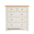 Farrow Cream 2 over 3 drawer chest of Drawers by Roseland Furniture