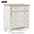 Farrow Cream 2 over 3 drawer chest of Drawers - Size Guide
