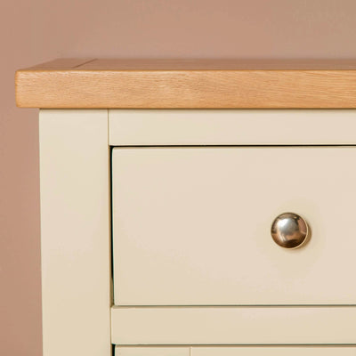 Farrow Cream 2 cupboard 2 drawer mini sideboard unit cupboard drawer knob