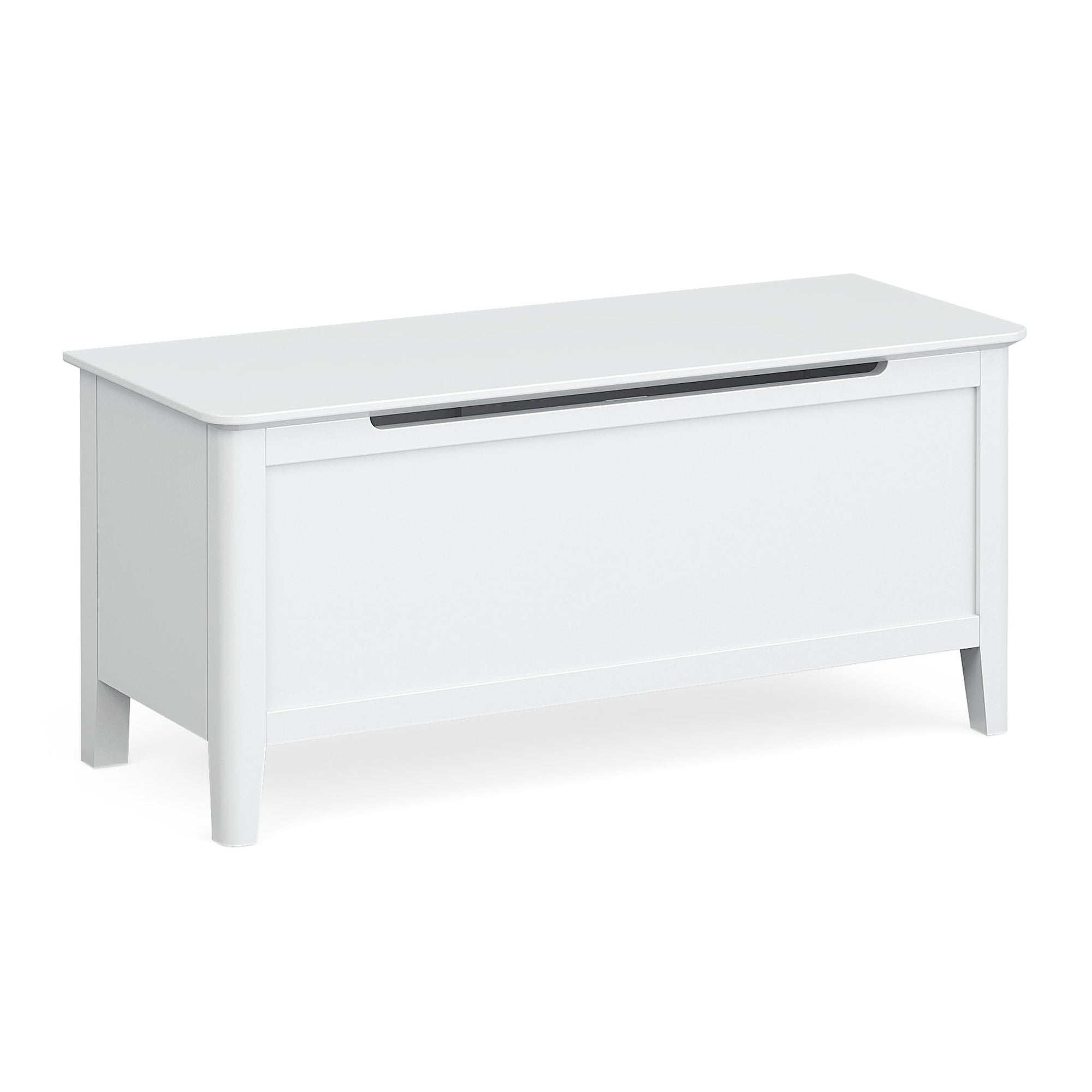Chester White Blanket Box Ottoman by Roseland Furniture
