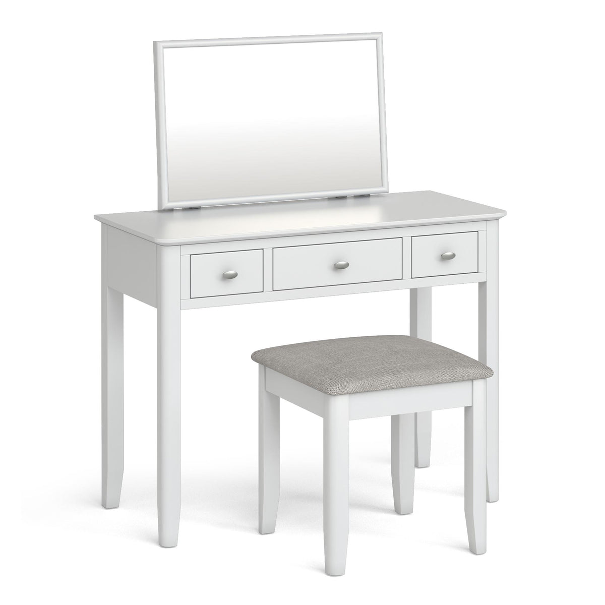 Chester White Dressing Table Set  by Roseland Furniture