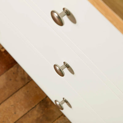 Farrow White 6 Drawer Chest of Drawers drawer fronts