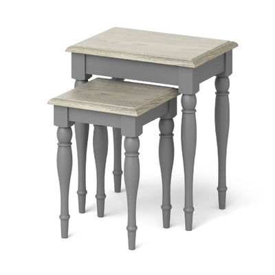 The Mulsanne Grey Nest of Tables
