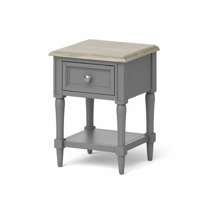 The Mulsanne Grey Side Table