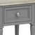 The Mulsanne Grey Side Table - Close Up of Drawer